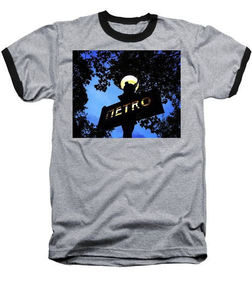 Night Ride Baseball T-Shirt