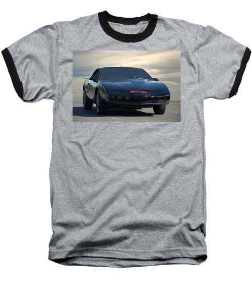 Night Rider 2000 Kitt Replica Baseball T-Shirt