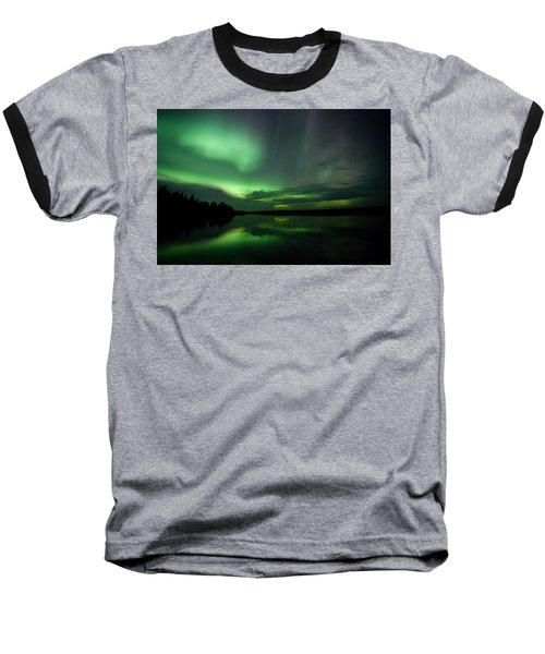 Baseball T-Shirt featuring the photograph Night Show by Yvette Van Teeffelen