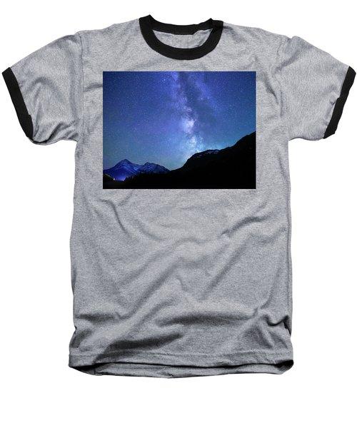 Night Sky In David Thomson Country Baseball T-Shirt
