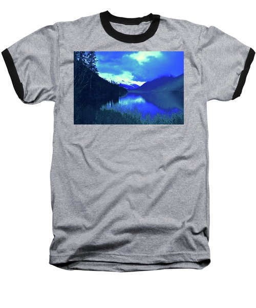 Night Sky Baseball T-Shirt by Joe Burns