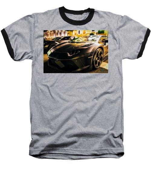 Night Soul Baseball T-Shirt