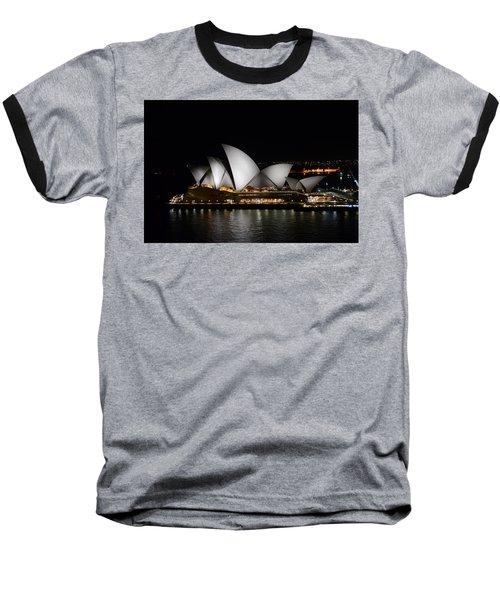 Night Symphony Baseball T-Shirt
