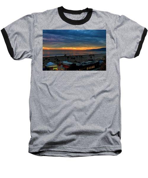 Night Tennis Anyone Baseball T-Shirt
