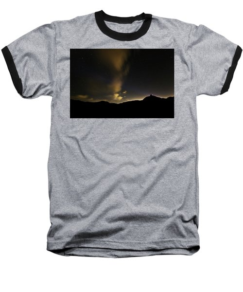 Night Time At Palo Duro Canyon State Park - Texas Baseball T-Shirt