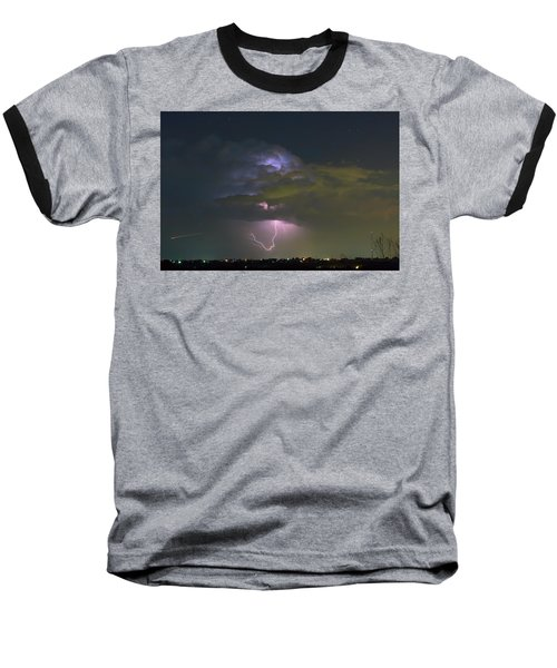 Baseball T-Shirt featuring the photograph Night Tripper by James BO Insogna