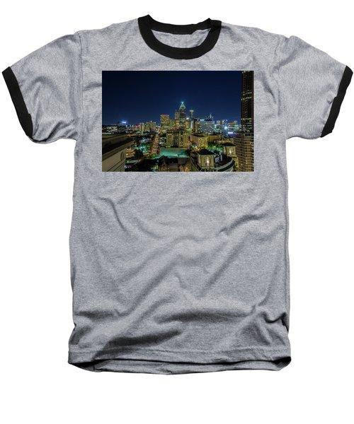 Night View 2 Baseball T-Shirt