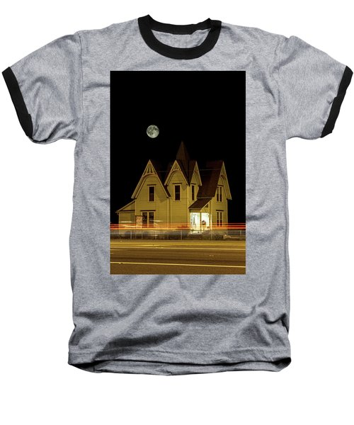 Night View Baseball T-Shirt