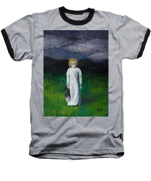 Night Walk Baseball T-Shirt
