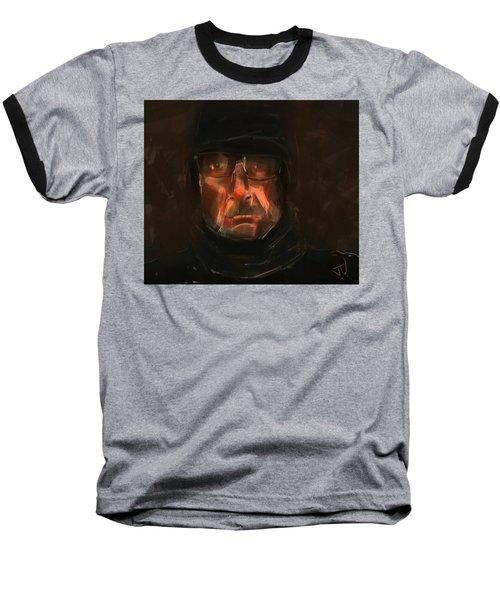 Night Watch Baseball T-Shirt by Jim Vance