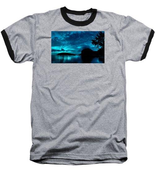 Nightfall In Mauritius Baseball T-Shirt