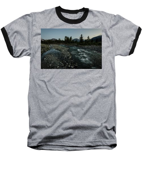 Nightfall In Montana Baseball T-Shirt
