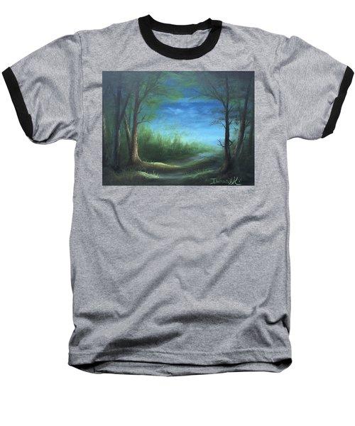 Nightfall In The Boggs  Baseball T-Shirt