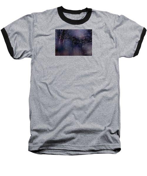 Nightfall In The Woods Baseball T-Shirt