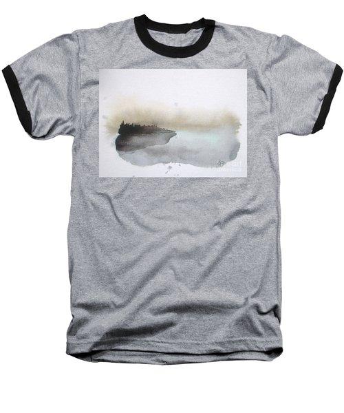Nightfall On The Lake  Baseball T-Shirt
