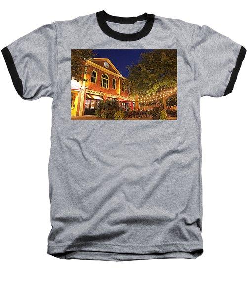 Nightime In Newburyport Baseball T-Shirt