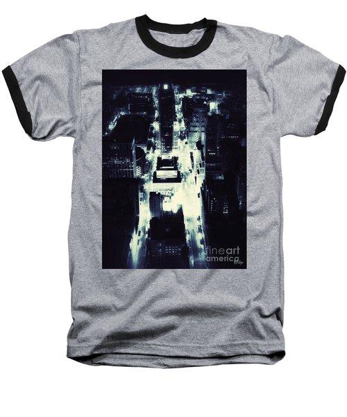Blue Pill Baseball T-Shirt