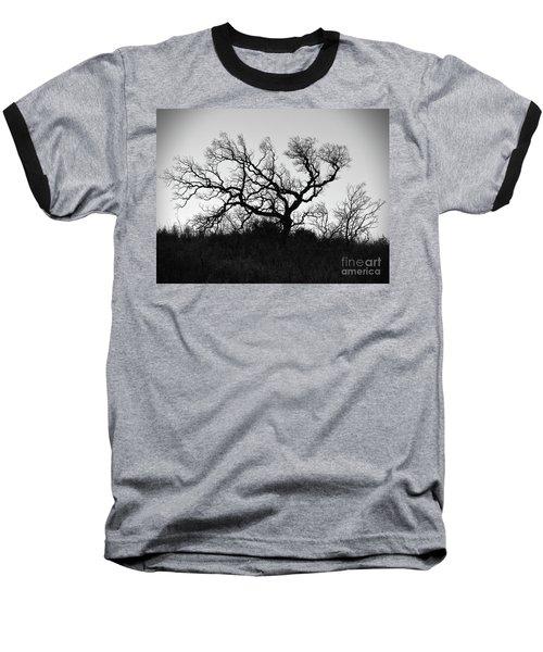 Nightmare Tree Baseball T-Shirt