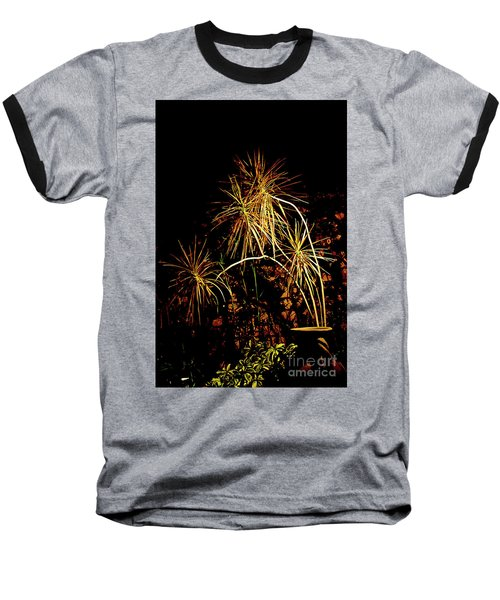 Baseball T-Shirt featuring the photograph Nightmares Are Made Of This by Al Bourassa