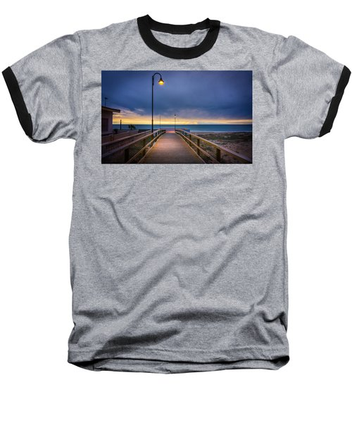 Nighttime Walk. Baseball T-Shirt