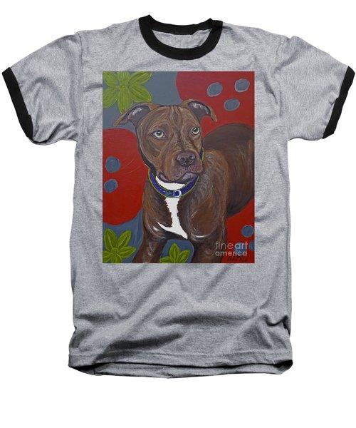 Niko The Pit Bull Baseball T-Shirt