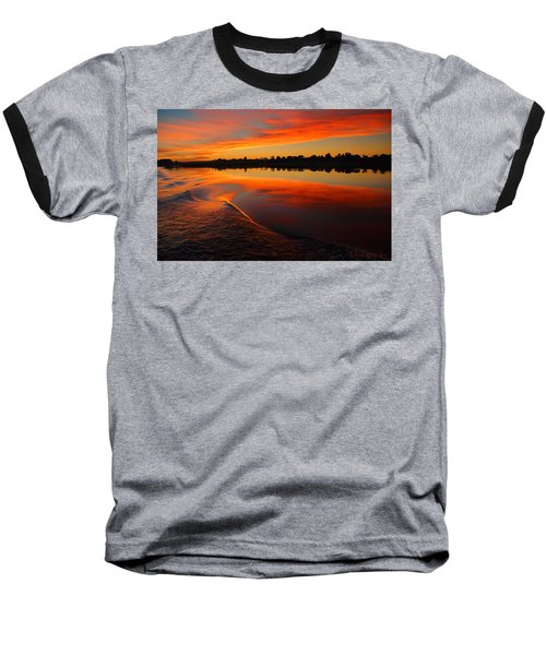 Nile Sunset Baseball T-Shirt