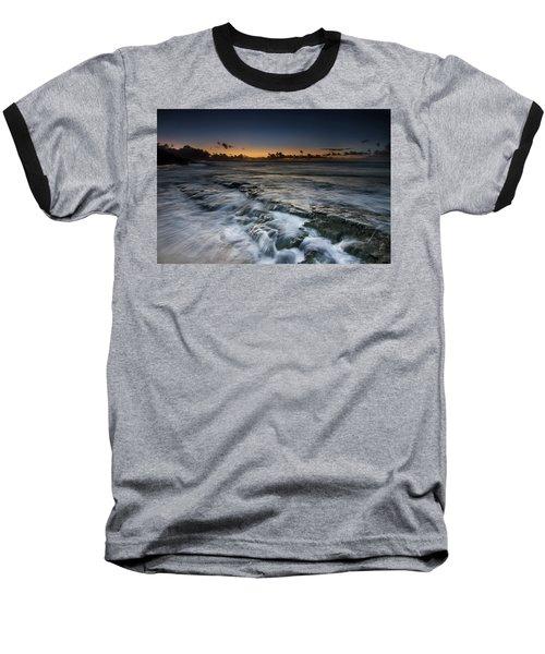 Nimitz Beach Sunrise Baseball T-Shirt
