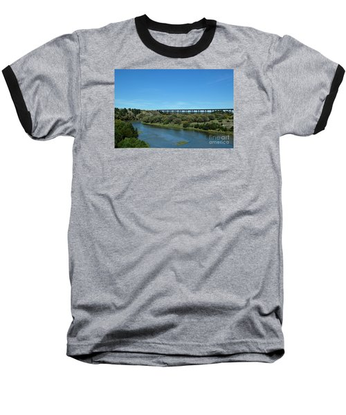 Baseball T-Shirt featuring the photograph Niobrara River by Mark McReynolds