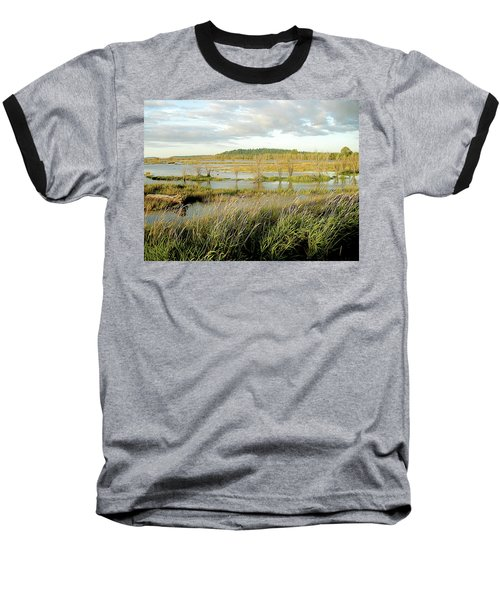 Nisqually Tide Coming In Baseball T-Shirt