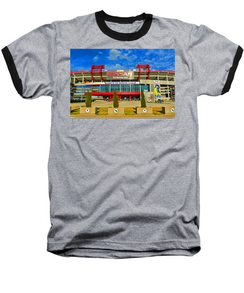 Nissan Stadium Home Of The Tennessee Titans Baseball T-Shirt