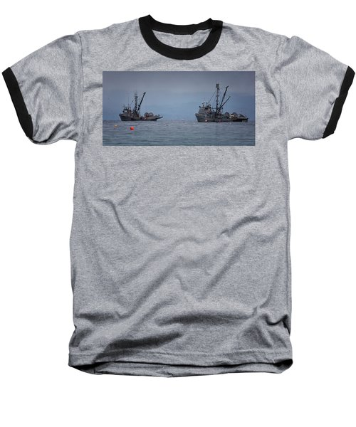 Baseball T-Shirt featuring the photograph Nita Dawn And Cape George by Randy Hall