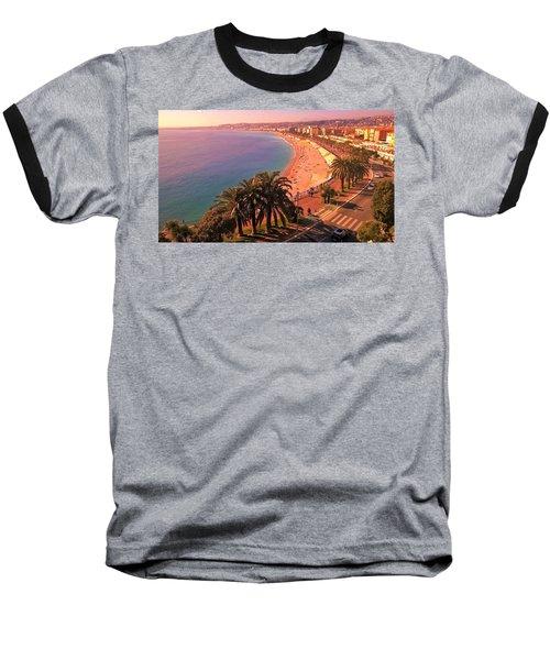 Nizza By The Sea Baseball T-Shirt