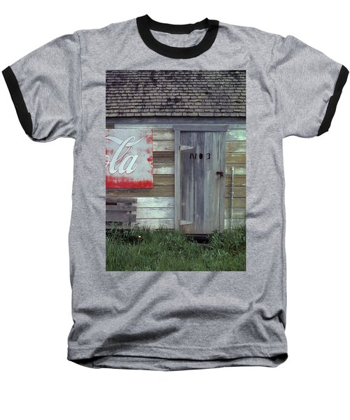 Baseball T-Shirt featuring the photograph No. 3 by Laurie Stewart