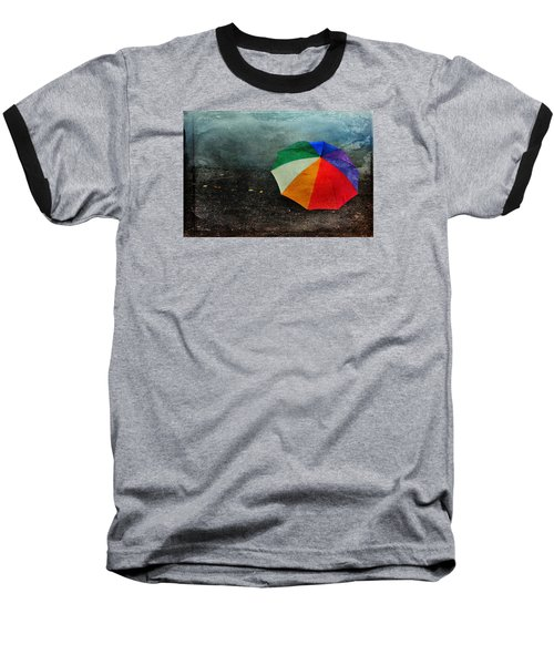No Day For A Tan Baseball T-Shirt by Randi Grace Nilsberg