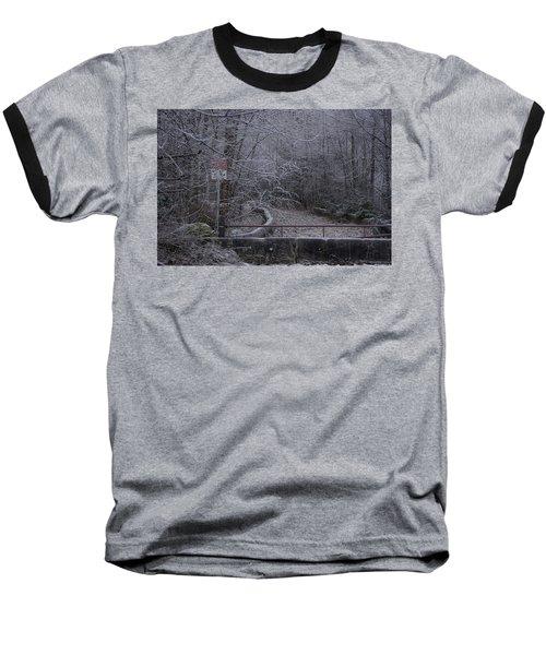 No Entry Baseball T-Shirt