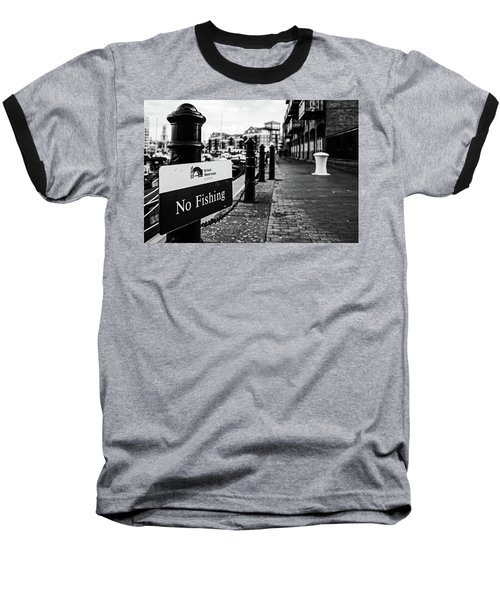 No Fishing Baseball T-Shirt