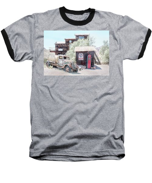 No Gas Today Baseball T-Shirt