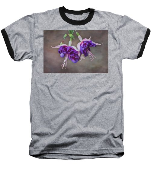 Purple Fuchsia Baseball T-Shirt