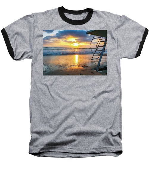No Lifeguard On Duty Baseball T-Shirt