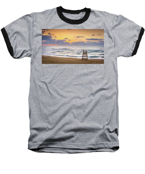 No Lifeguard On Duty. Baseball T-Shirt