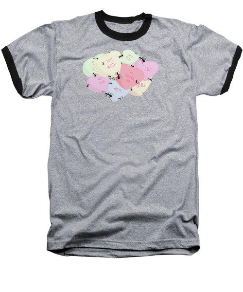 No Love Here Baseball T-Shirt