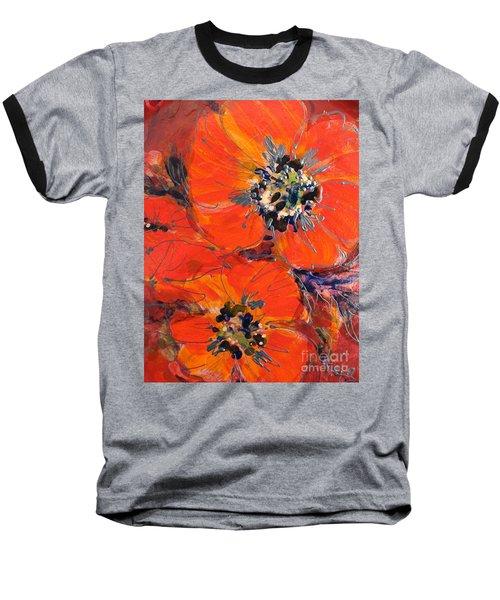 Magic Poppy Baseball T-Shirt