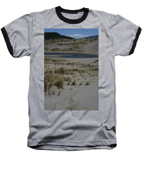 No One Is Around Baseball T-Shirt