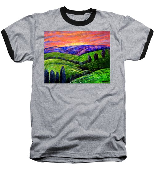 No Place Like The Hills Of Tennessee Baseball T-Shirt by Kimberlee Baxter