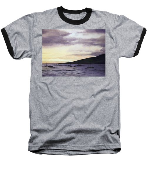 No Safer Harbor Lahaina Hawaii Baseball T-Shirt