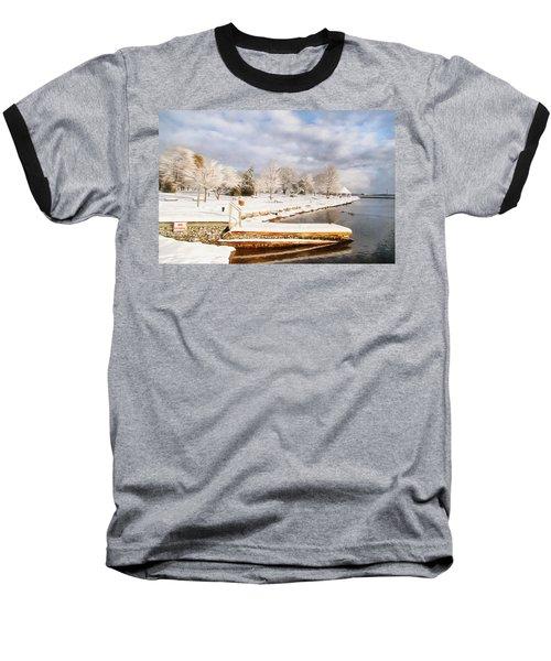 No Swimming Baseball T-Shirt