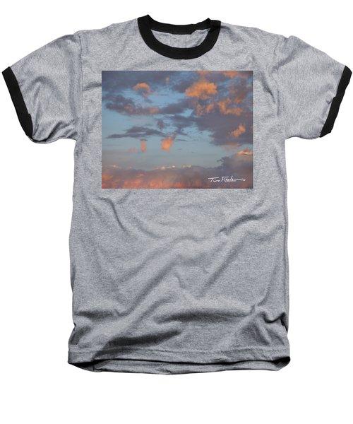 No Tears In Heaven Baseball T-Shirt by Tim Fitzharris