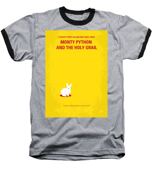 No036 My Monty Python And The Holy Grail Minimal Movie Poster Baseball T-Shirt by Chungkong Art