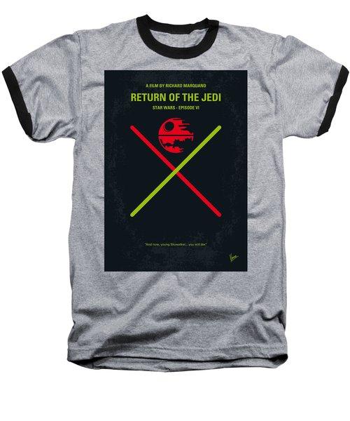 No156 My Star Wars Episode Vi Return Of The Jedi Minimal Movie Poster Baseball T-Shirt