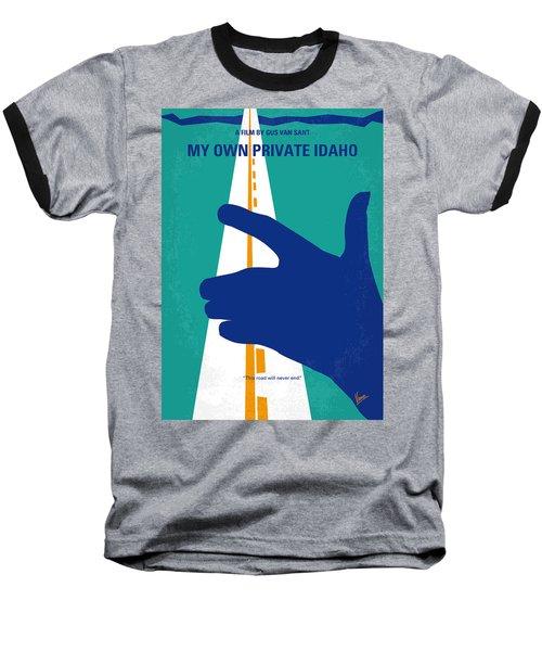 No472 My Own Private Idaho Minimal Movie Poster Baseball T-Shirt